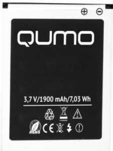 Qumo (510) 1900mAh Li-polymer, оригинал