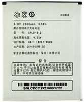 Coolpad (CPLD-312) 2500mAh Li-polymer, оригинал