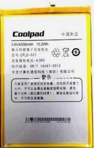 Coolpad (CPLD-321) 4000mAh Li-polymer, оригинал