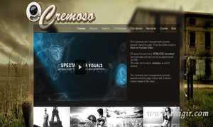 Русский перевод Cremoso AS3 XML Retro Website