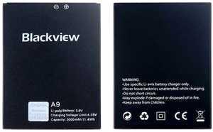 Blackview (A9) 3000mAh Li-polymer, оригинал