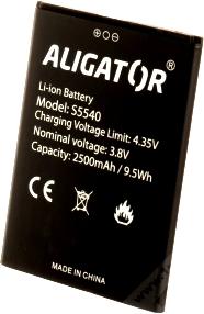 Aligator S5540 (AS5540BAL) 2500mah Li-ion, оригинал